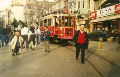 Tunel Tram at the End of Istiklal Street, Istanbul
